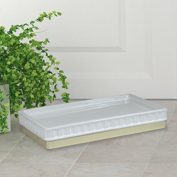 Andrade Ceramic Bathroom Accessory Tray by Mercer41