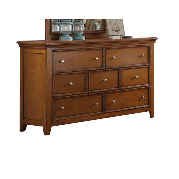 Skipworth Wooden 7 Drawer Dresser by Canora Grey