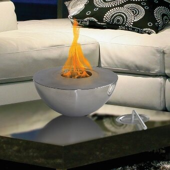 Sutton Indoor/Outdoor Gel Fuel Tabletop Fireplace by Anywhere Fireplace
