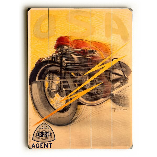 OSA Liberty Motorcycle Vintage Advertisement by Red Barrel Studio