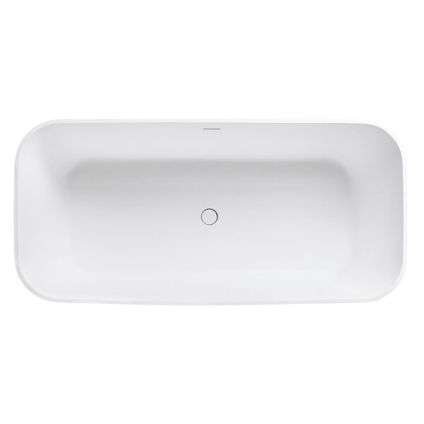 VersaStone 67 H x 32 W Soaking Bathtub by Avanity