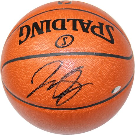 NBA J.R. Smith Signed Game Series I/O Basketball by Steiner Sports