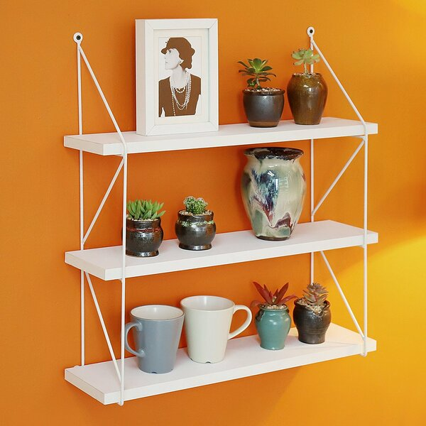 Welland 3-Tier Display Wall Accent Shelf by Welland LLC