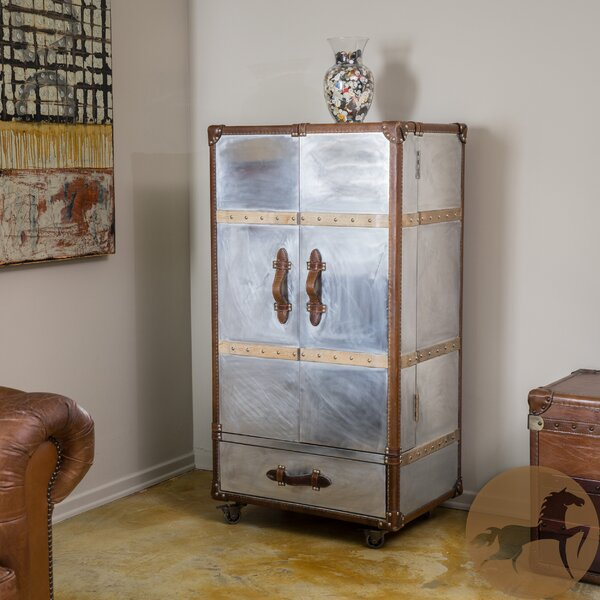 Baltimore Steamer Roller Trunk by Home Loft Concepts