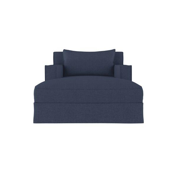 Letendre Linen Chaise Lounge