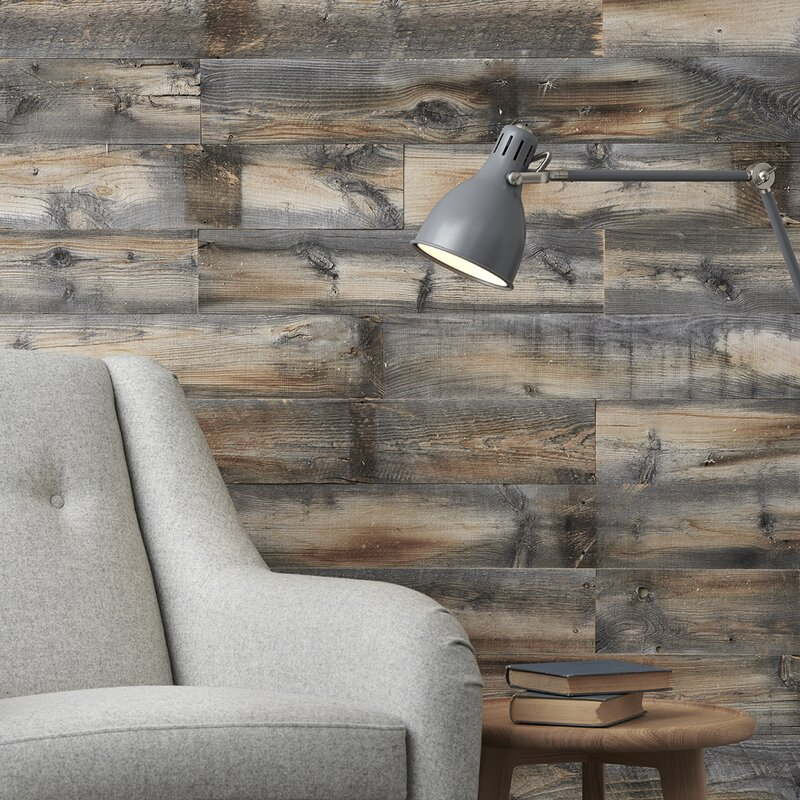 5 Solid Reclaimed Wood Wall Paneling In Cody