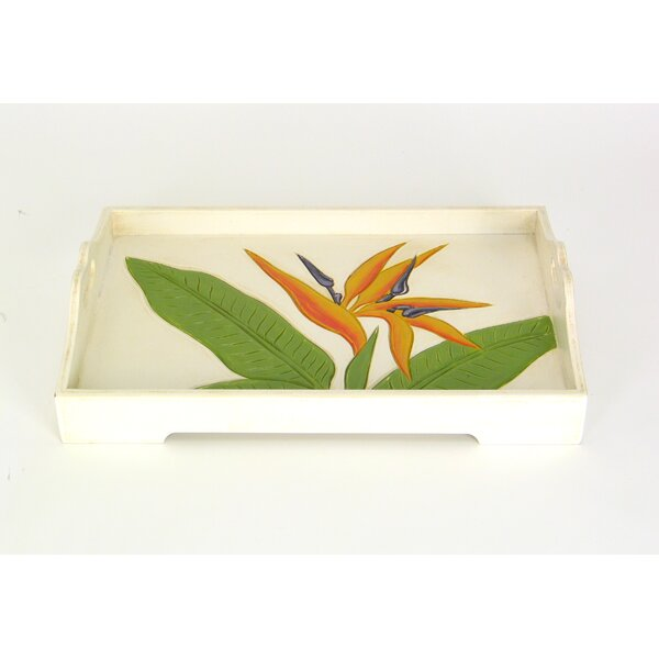 Garfield Rectangular Serving Tray by Bay Isle Home