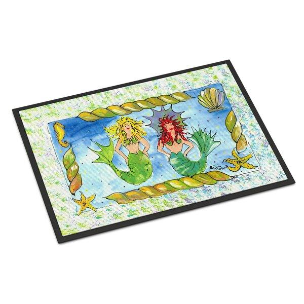 Mermaid Non-Slip Indoor Door Mat