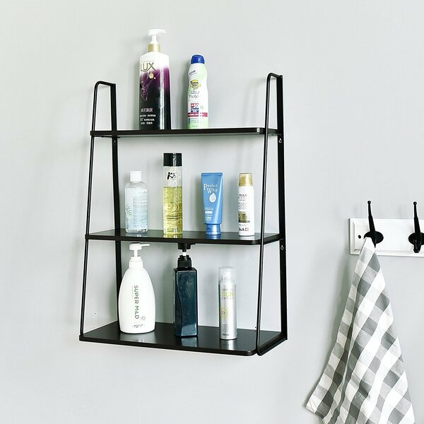 Ranjeet 3-Tier Display Wall Shelf by Latitude Run