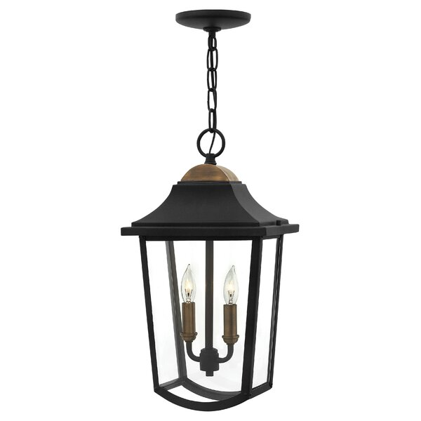 Burton 2 Light Outdoor Hanging Lantern By Hinkley Lighting.