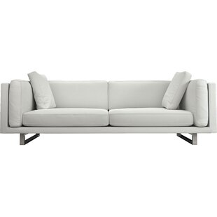 Charmant Fulton Top Grain Leather Sofa
