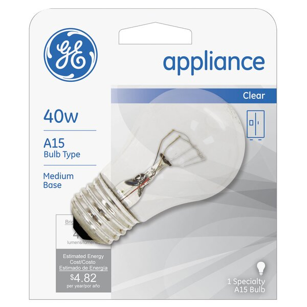 40W 120-Volt (2600K) Light Bulb by GE