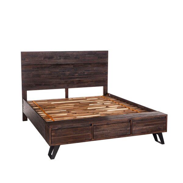 Josef Storage Standard Bed by Union Rustic