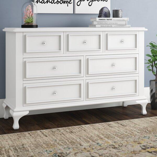 Consuelo 7 Drawer Double Dresser by Harriet Bee