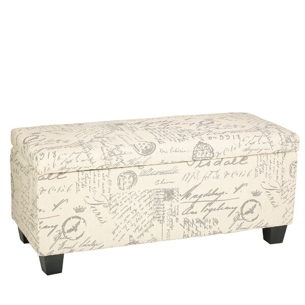 Lemieux Fabric Storage Bench by Lark Manor