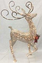Let it Snow Crystal Splendor Deer by The Holiday Aisle