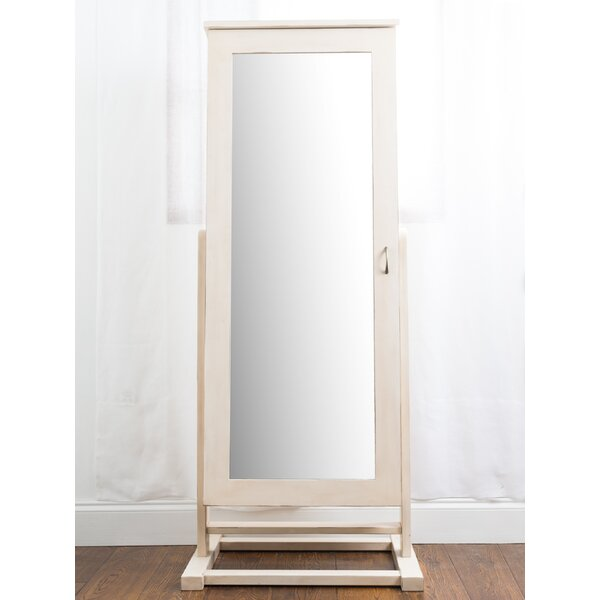 Cheval Free Standing Jewelry Armoire with Mirror by Hives and Honey
