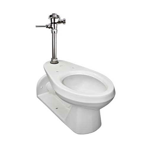 Commercial Dual Flush Elongated One-Piece toilet by Mansfield Plumbing Products