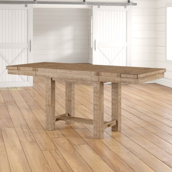 Hillary Counter Height Extendable Dining Table by Laurel Foundry Modern Farmhouse Laurel Foundry Modern Farmhouse