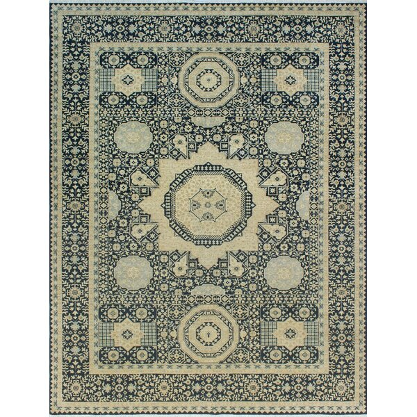 Fairburn Hand Tufted Wool Navy Area Rug By House Of