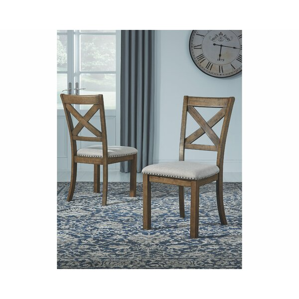Hillary Upholstered Dining Chair (Set of 2) by Laurel Foundry Modern Farmhouse