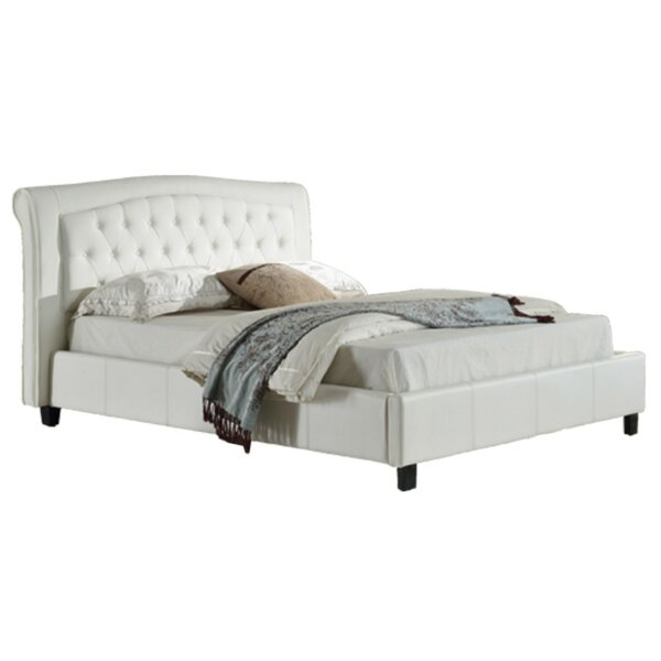 Paige Padded California Upholstered Platform Bed by Rosdorf Park