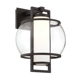 Top Reviews Lucid LED Outdoor Wall Lantern By Modern Forms