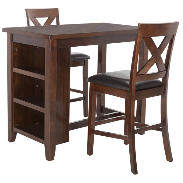 Renwick 3 Piece Pub Table Set by Darby Home Co