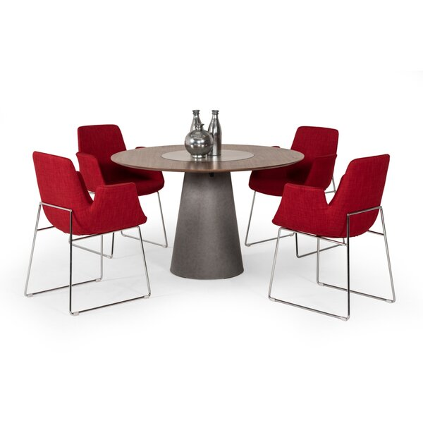 Cahill Round Dining Table by Williston Forge Williston Forge