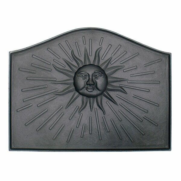Sun Cast Iron Fire Back by Minuteman International