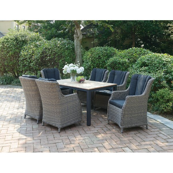 Bonnie 7-Piece Dining Set by A&J Homes Studio