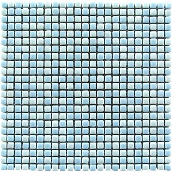 Full Body 0.5 x 0.5 Glass Mosaic Tile in Light Blue by Abolos