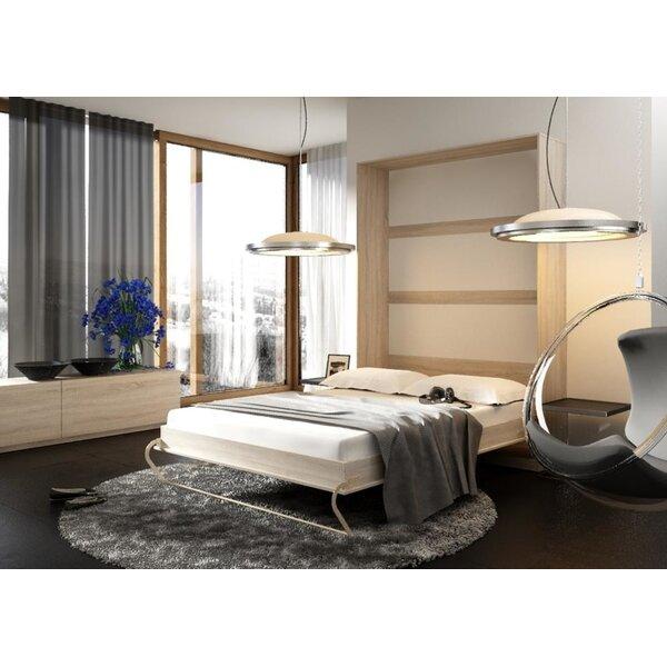 Dicus Vertical Murphy Bed with Mattress by Orren Ellis
