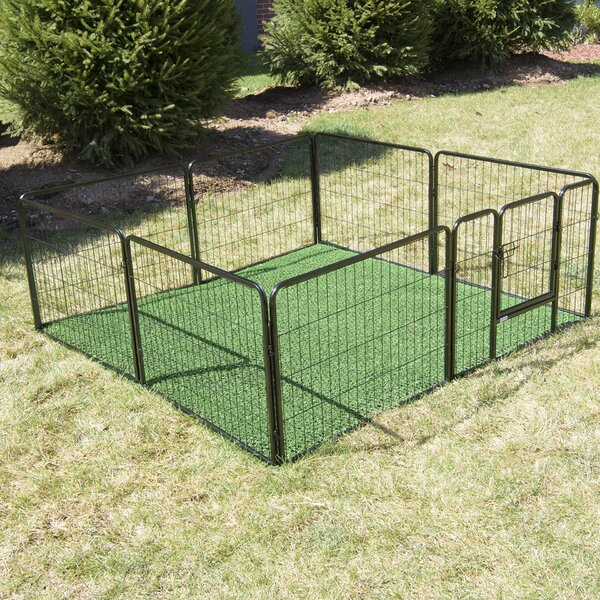 24 Outdoor Turf Potty Train Bathroom Pet Pen by Best Home Fashion, Inc.