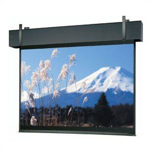 Professional Electrol Matte White Electric Projection Screen Da-Lite