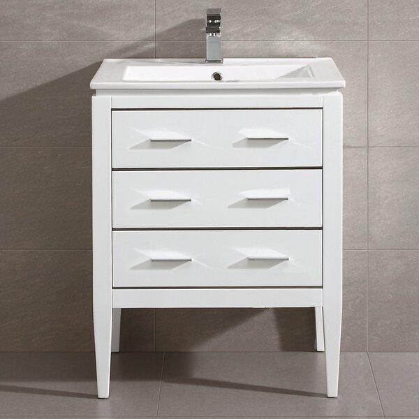 Bourdeau 24 Single Bathroom Vanity Set by Wrought Studio