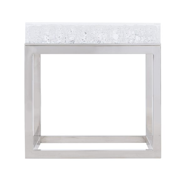 Bernhardt Exteriors Aventura Square Acrylic End Table