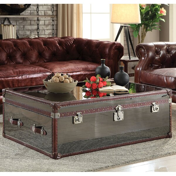 Kasha Coffee Table with Storage by Williston Forge
