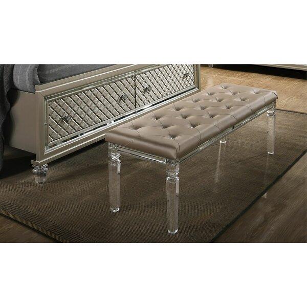 Hollingshead Upholstered Bench by Mercer41
