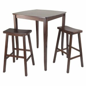 Inglewood 3 Piece Pub Table Set by Luxury Home