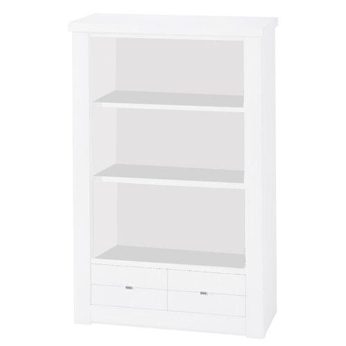 90 cm Standard-Bücherregal Angulo Brayden Studio Beschichtung: Weiß lackiert | Wohnzimmer > Regale > Bücherregale | Brayden Studio