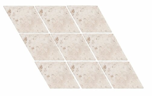 Tumbled Harlequin 4.5 x 4.5 Travertine Field Tile in Ivory by Parvatile
