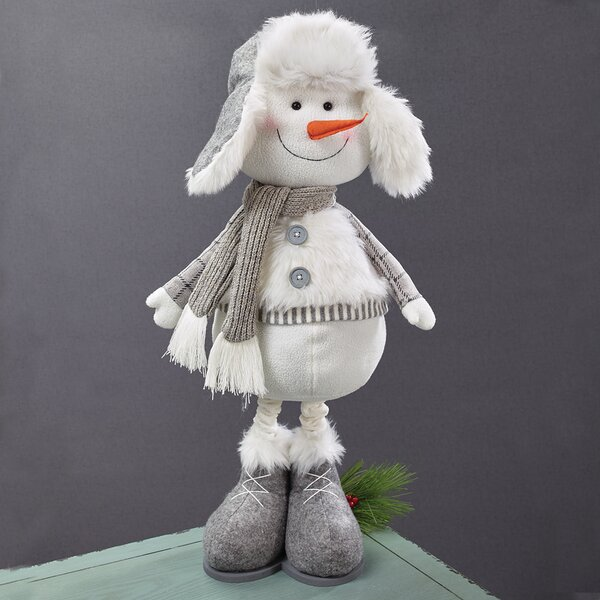 Expandable Snowman (Set of 2) by The Holiday Aisle