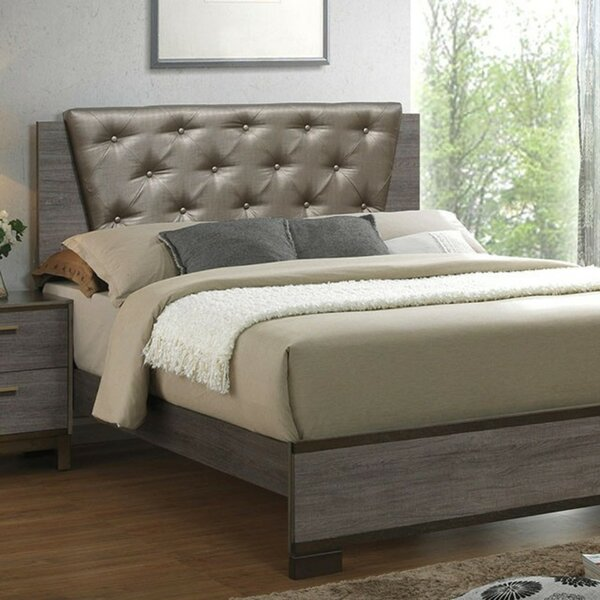 Grigori Upholstered Platform Bed by Wrought Studio