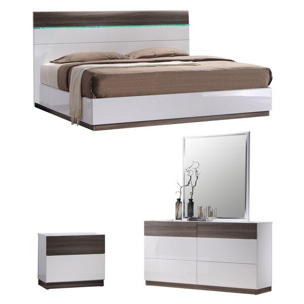 Elida  B Platform Configurable Bedroom Set by Orren Ellis