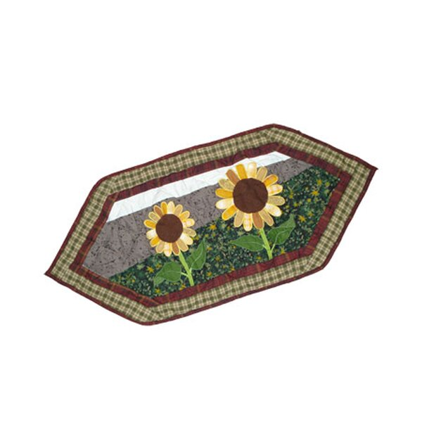 Sun Burst Table Runner by Patch Magic