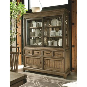 Brigadoon Lighted China Cabinet by Loon Peak