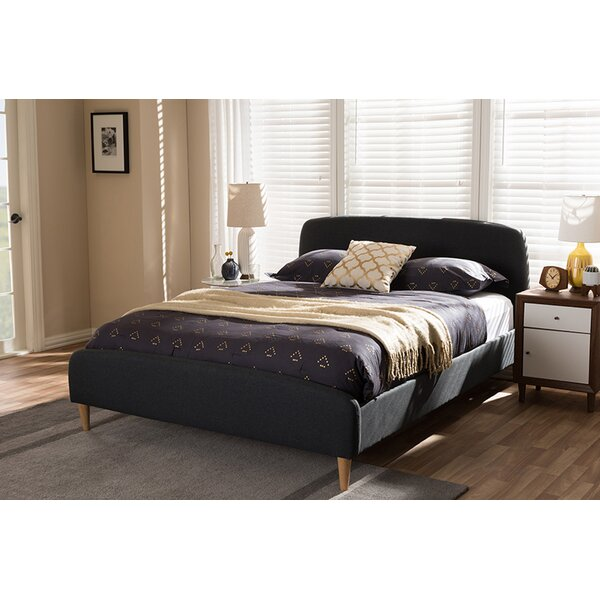 Bouchard Upholstered Platform Bed by Trule Teen