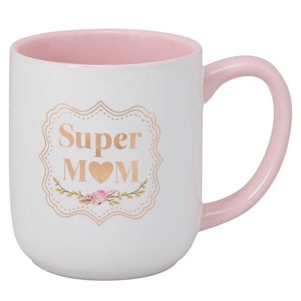 Super Mom Latte Mug by Ten Strawberry Street