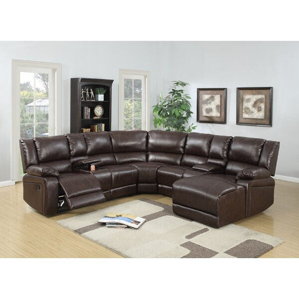 Hot New Melo Reclining Sectional By Latitude Run Reclining